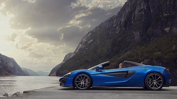McLaren 570S Spider Overview Design 妥協のない設計